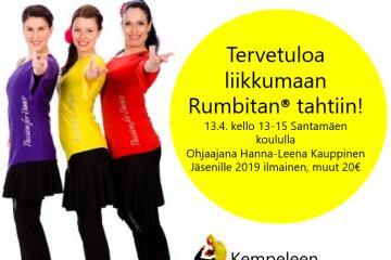 Rumbita workshop la 13.4.