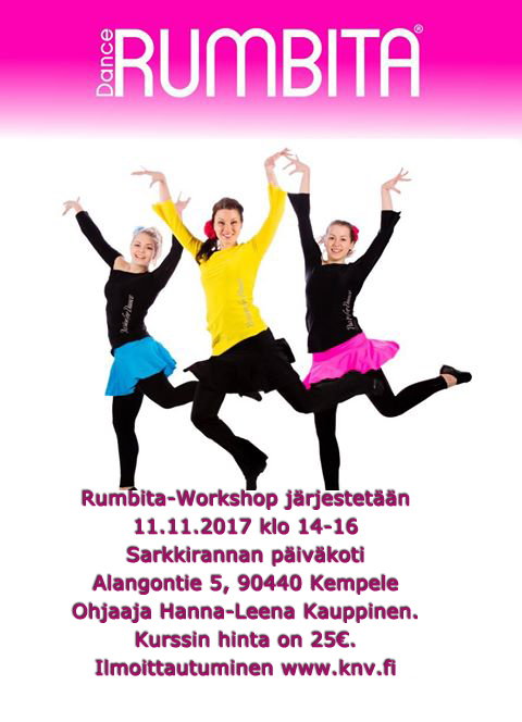 Rumbita workshop peruttu
